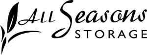 all seasons storage black logo